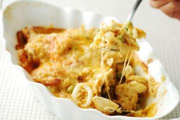 食譜:用咖哩塊作焗烤海鮮飯