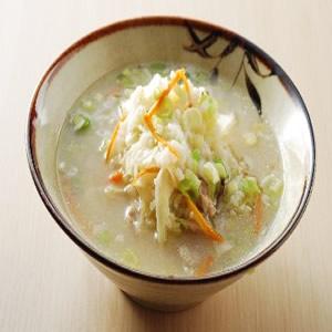 用電鍋作蔬菜鹹粥