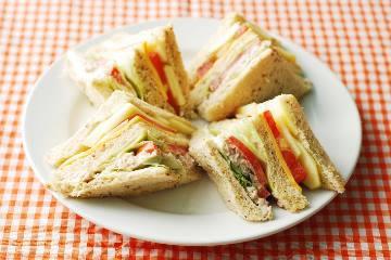 食譜:夏日鮪魚三明治