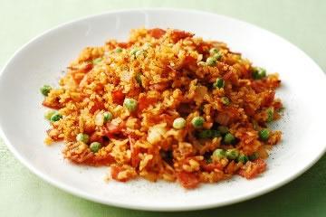 食譜:火腿茄汁炒飯的火候秘訣
