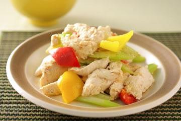 食譜:西芹炒雞片-清爽做法