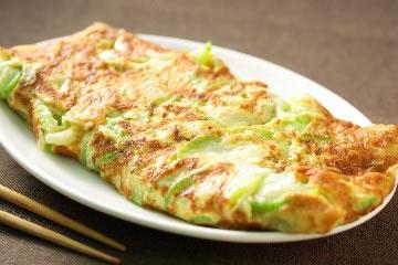 食譜:古早味的絲瓜煎餅