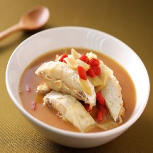 麻油月子餐-麻油魚片