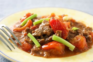 食譜:蕃茄炒牛肉