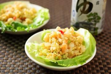 食譜:泡麵炒蝦鬆(1)