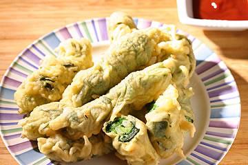 食譜:古早味炸韭菜捲