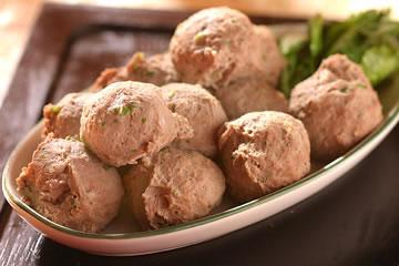 食譜:用調理機 做牛肉丸