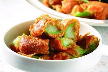 食譜:咖哩炸絲瓜