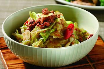 食譜:熱炒西生菜
