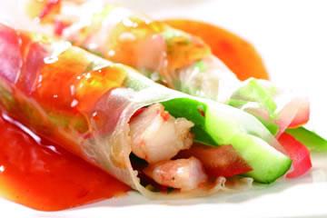 食譜:越式春捲沙拉(1)