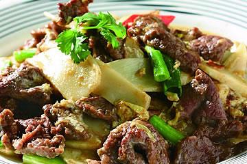 食譜:滑蛋炒牛肉(1)