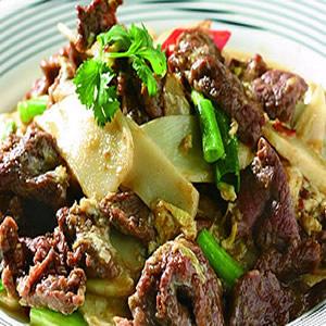 滑蛋炒牛肉(1)