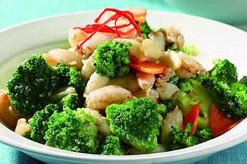 食譜:蟹肉花菜