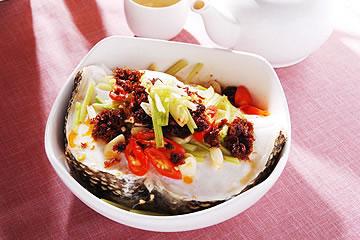 食譜:用電鍋做XO醬蒸鱈魚