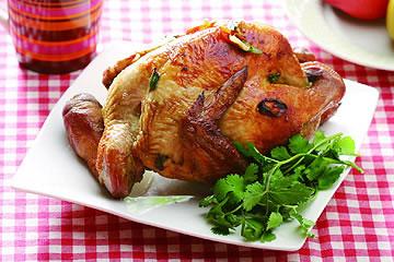 食譜:烤手扒雞