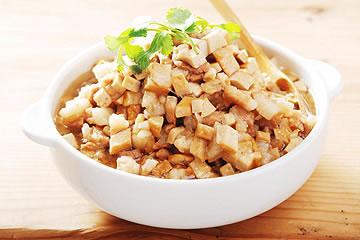 食譜:熟五花肉做滷肉飯(電鍋)