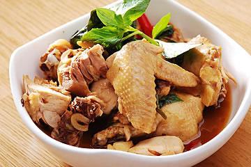 食譜:白斬雞 變 三杯雞