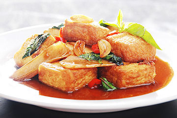 食譜:老皮嫩肉-炸豆腐