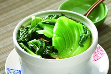 食譜:用電鍋做長年菜雞湯
