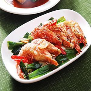 酥香的胡椒蝦