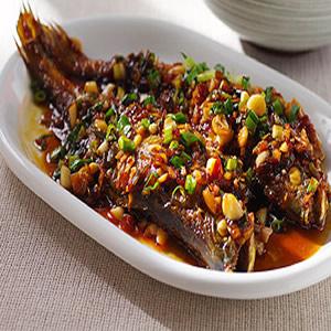 乾燒小黃魚