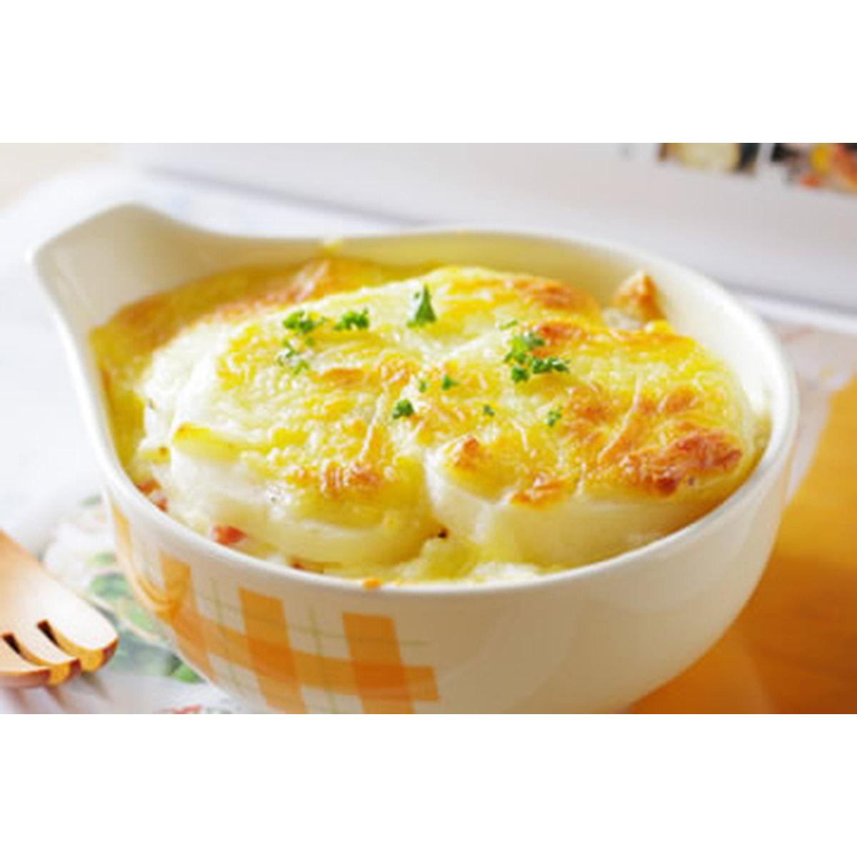 食譜:火腿馬鈴薯焗起司