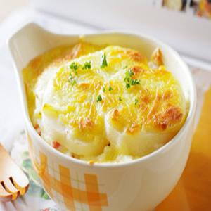 火腿馬鈴薯焗起司