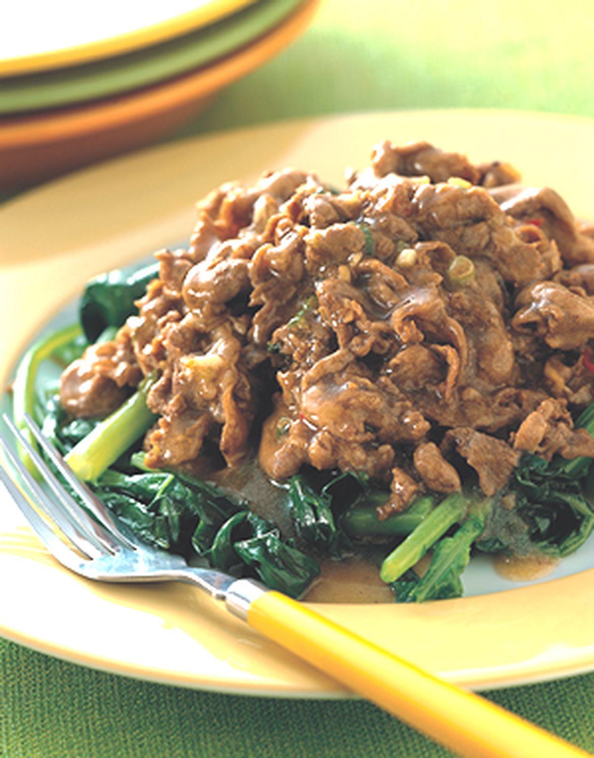 食譜:沙茶燴羊肉
