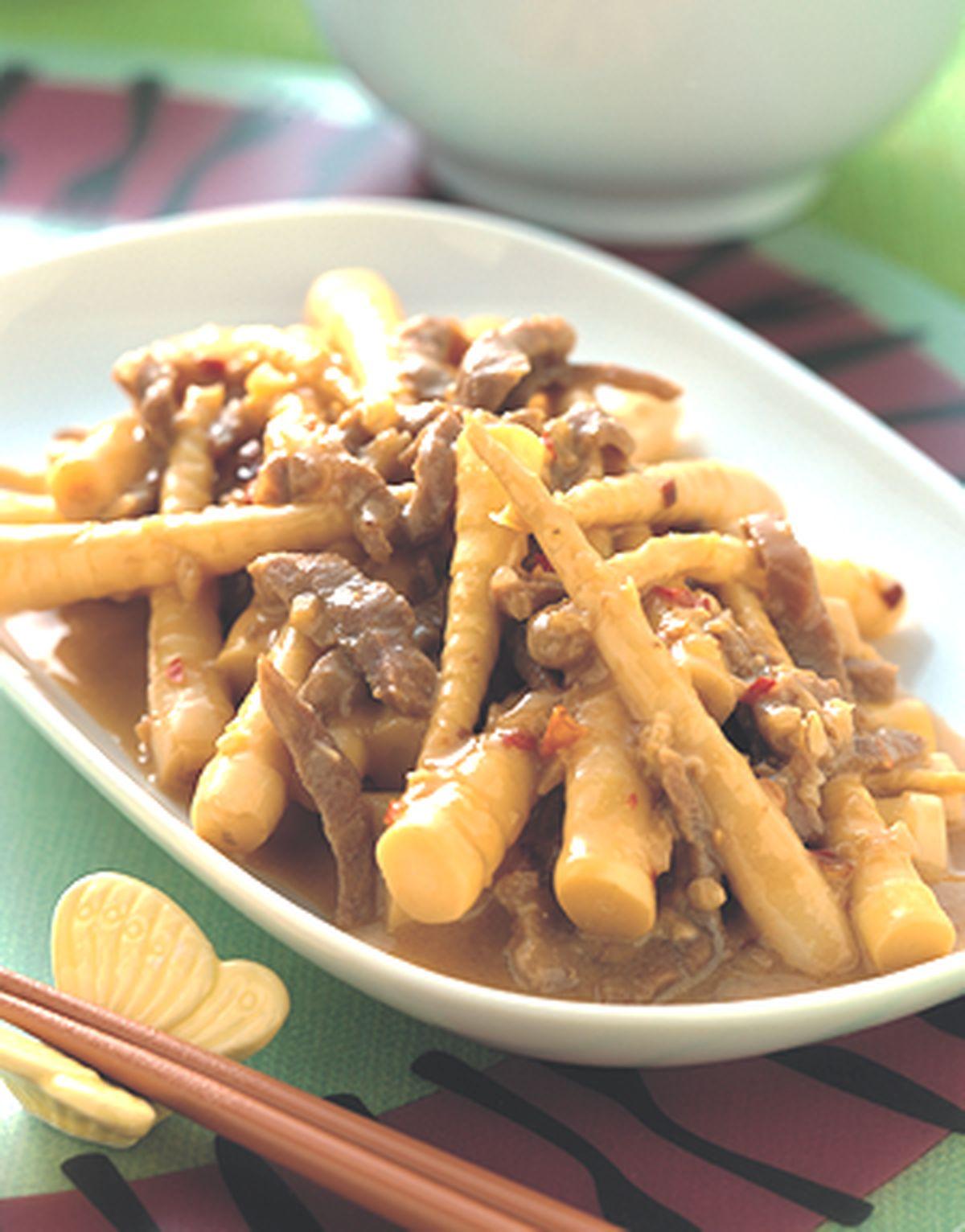 食譜:肉絲炒箭筍