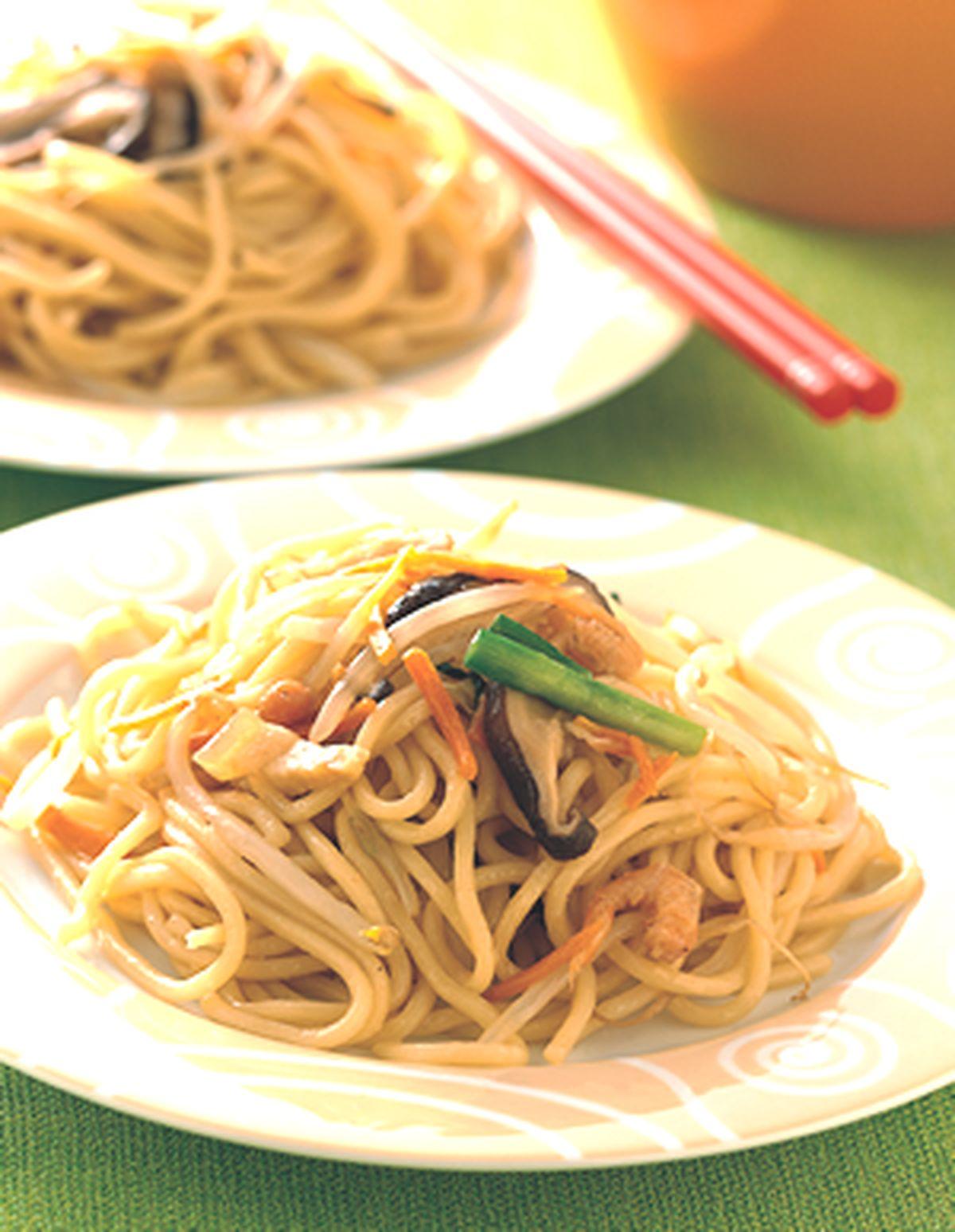 食譜:什錦炒麵