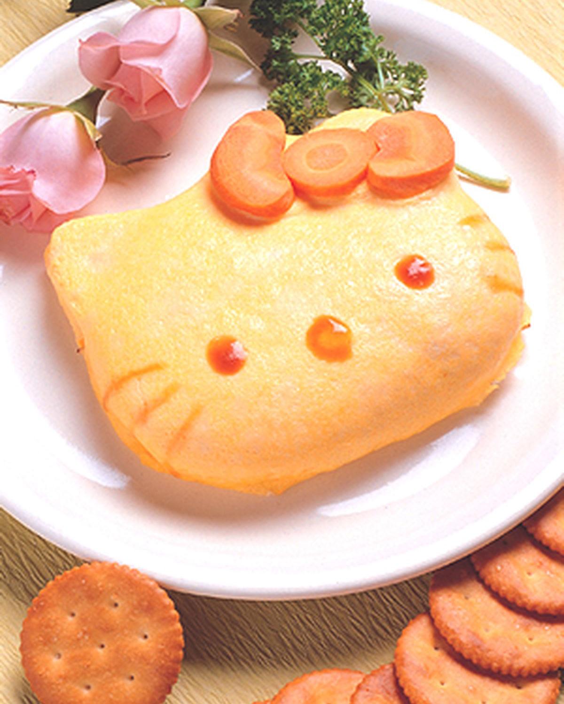 食譜:Kitty蛋包飯