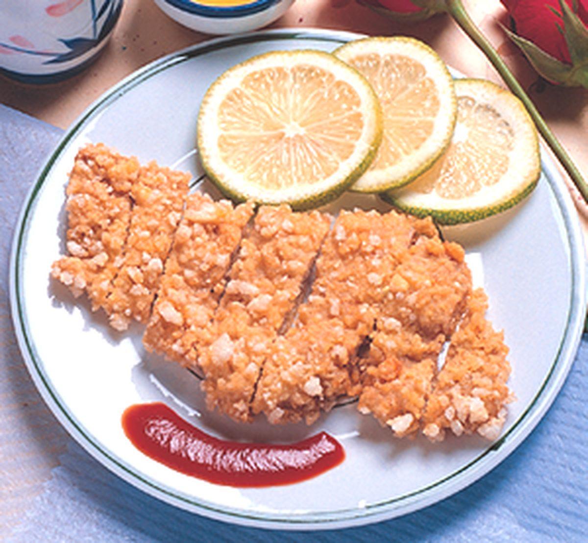 食譜:米果豬排