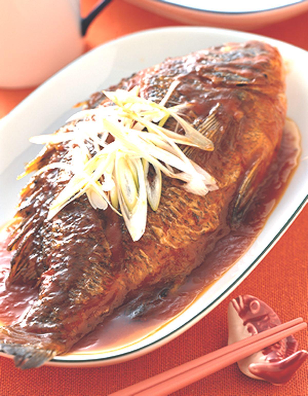 食譜:蔥燒糖醋魚