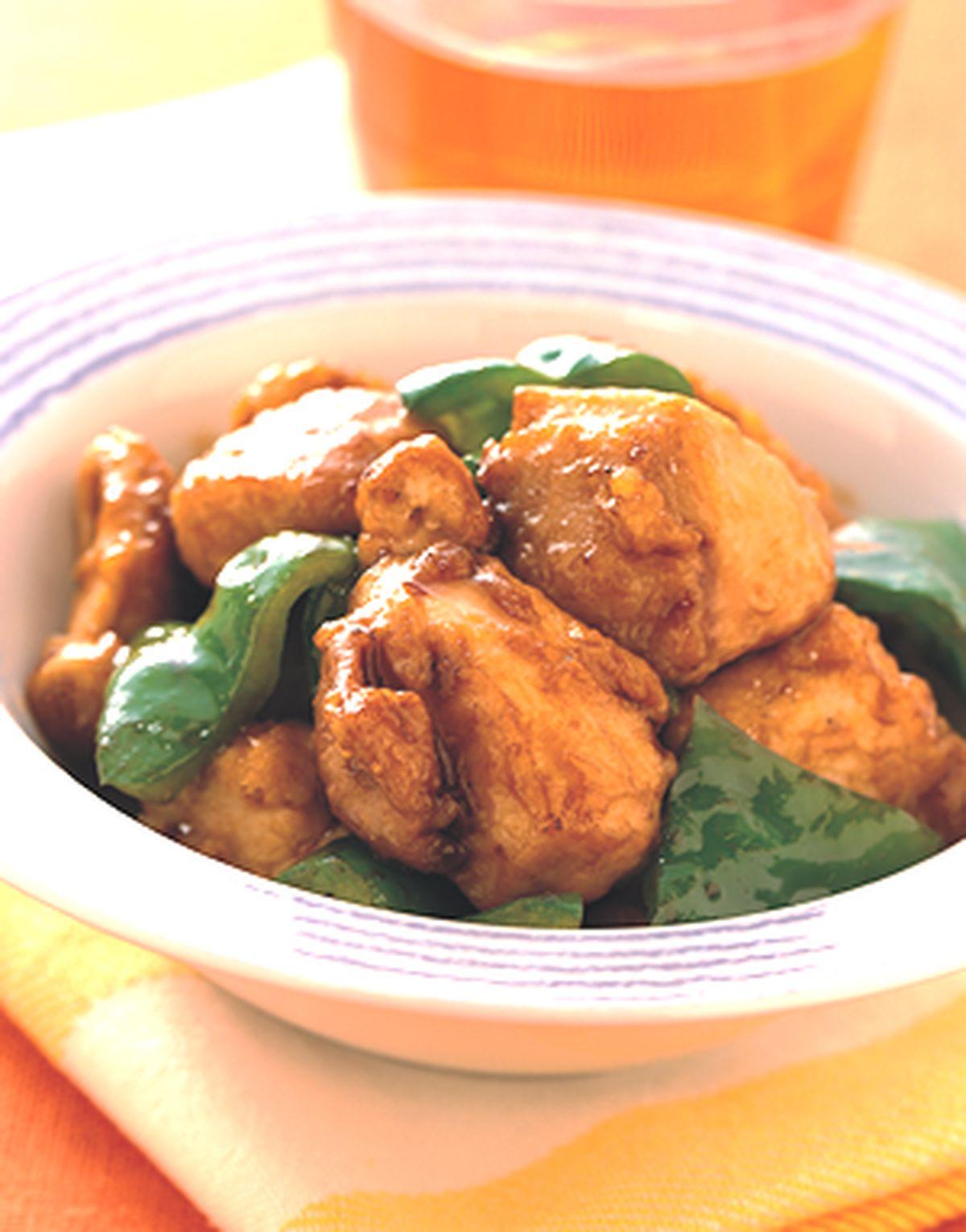 食譜:青椒蠔油雞