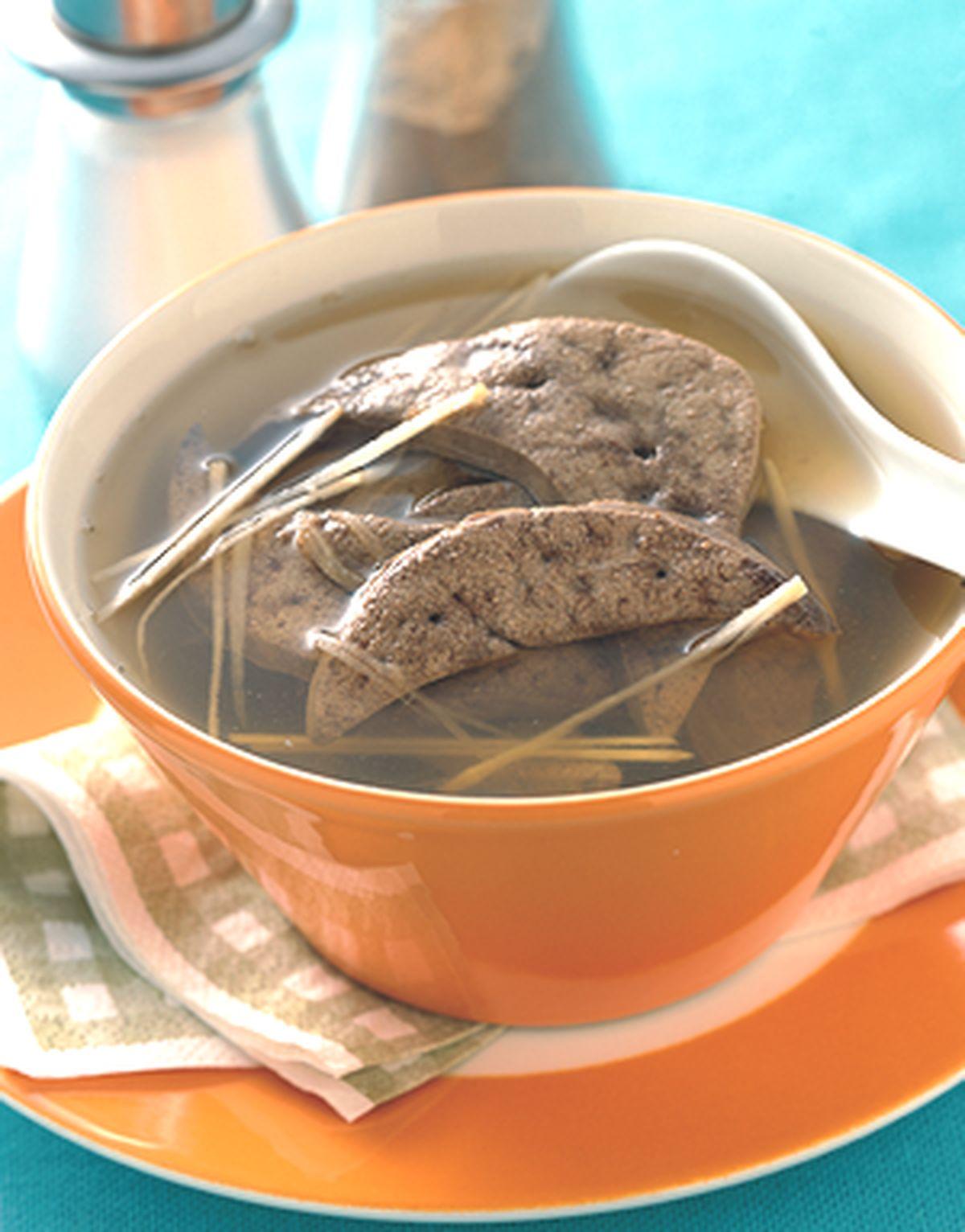 食譜:豬肝湯