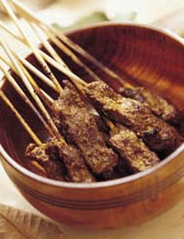 食譜:沙嗲羊肉串
