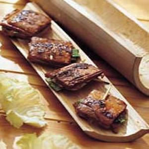 豆干夾肉燒