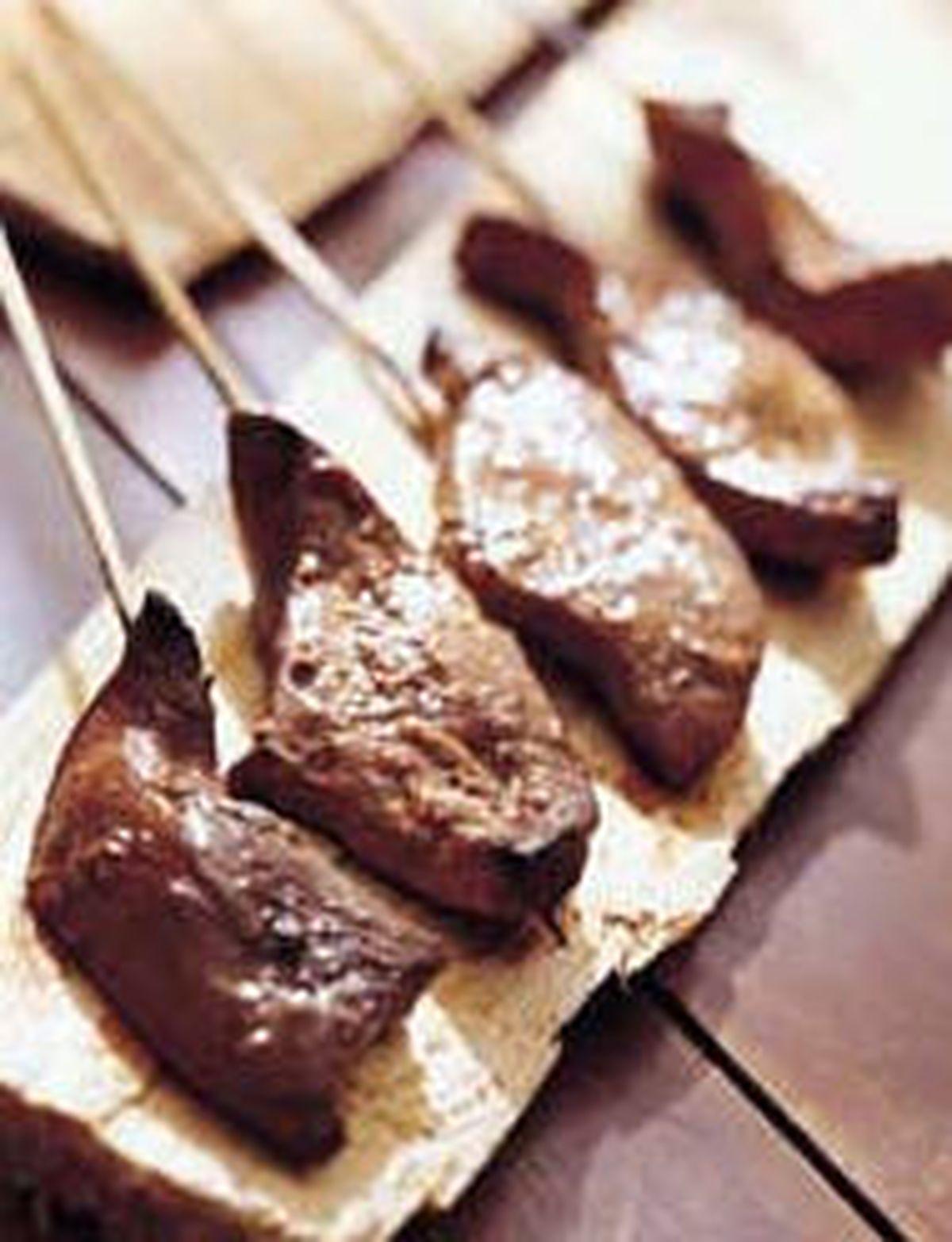 食譜:豬肝燒片