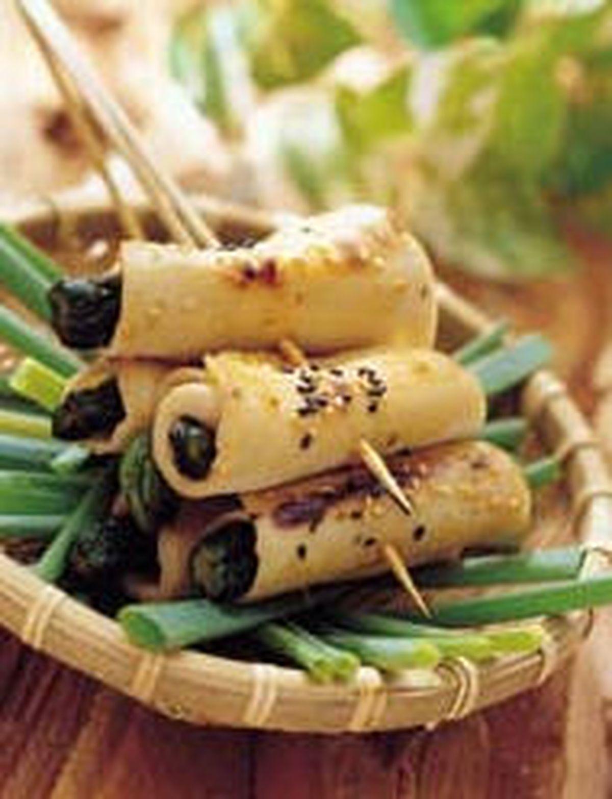 食譜:鮑魚卷脆瓜條