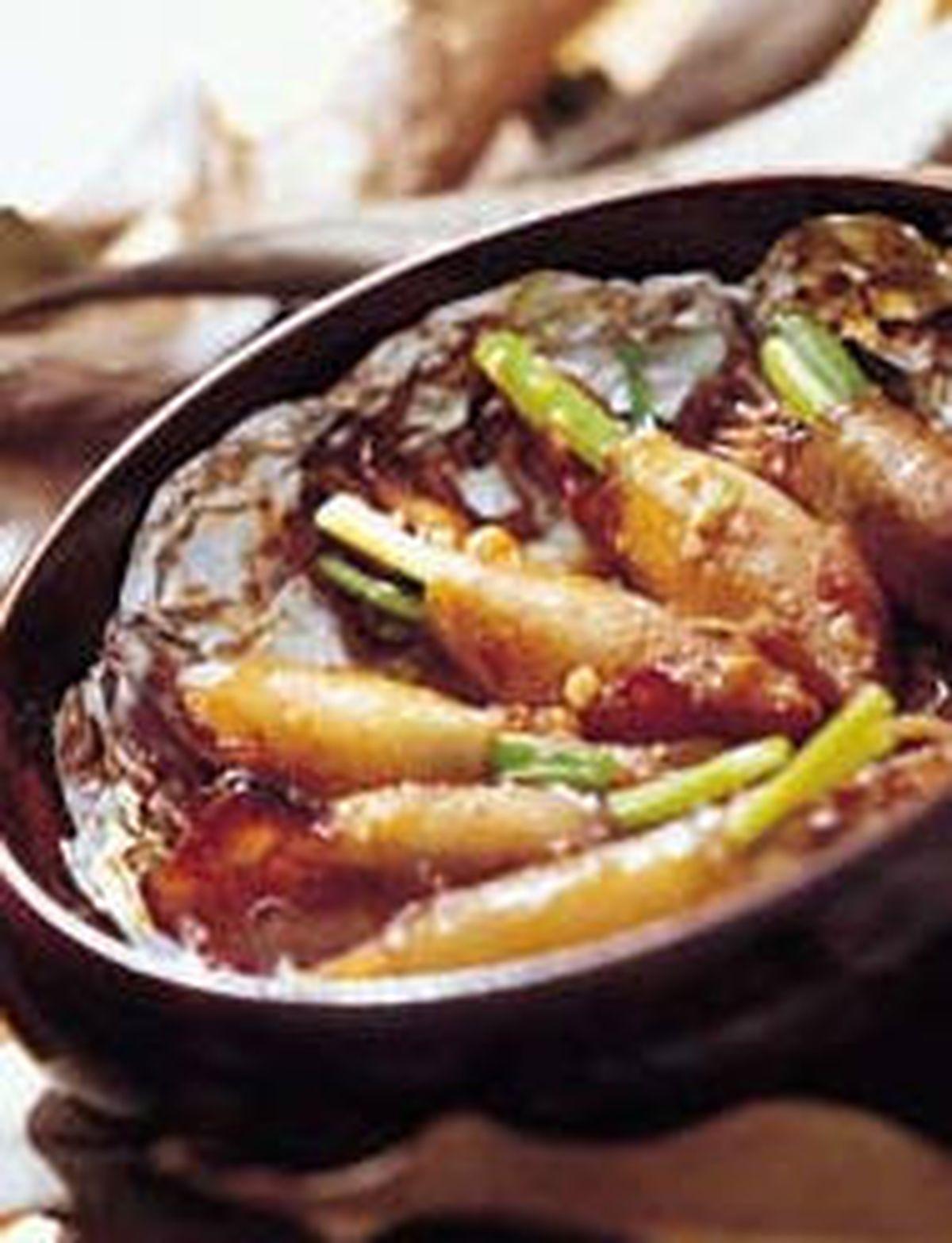 食譜:蜜小卷蔥燒