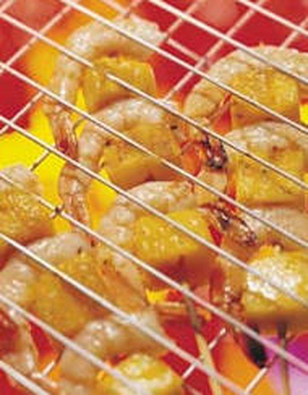 食譜:烤芒果蝦