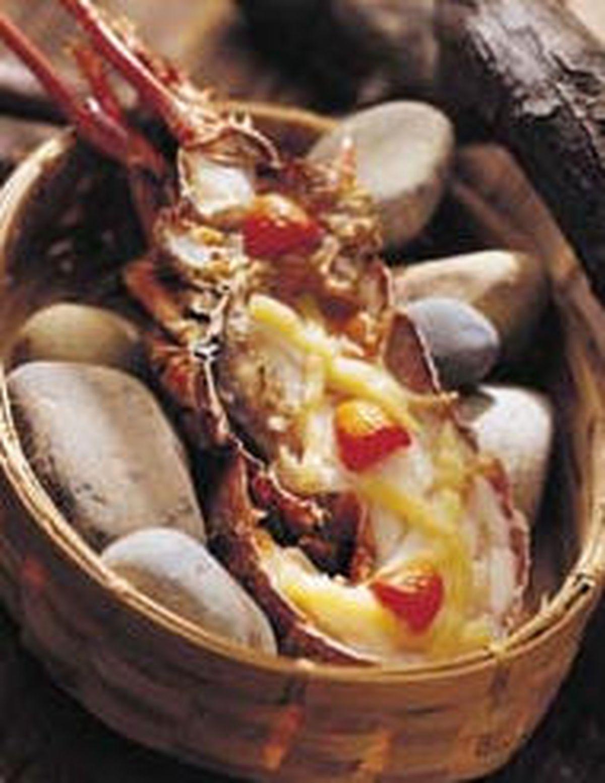 食譜:烤龍蝦