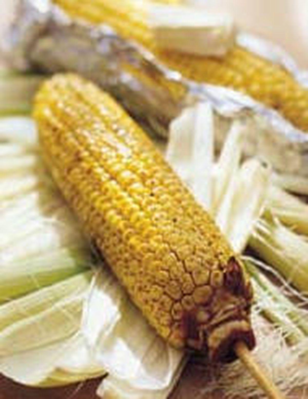 食譜:烤玉米