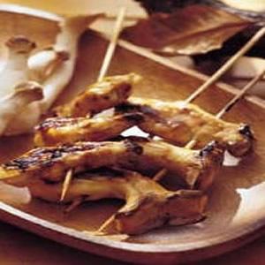 杏鮑菇串燒