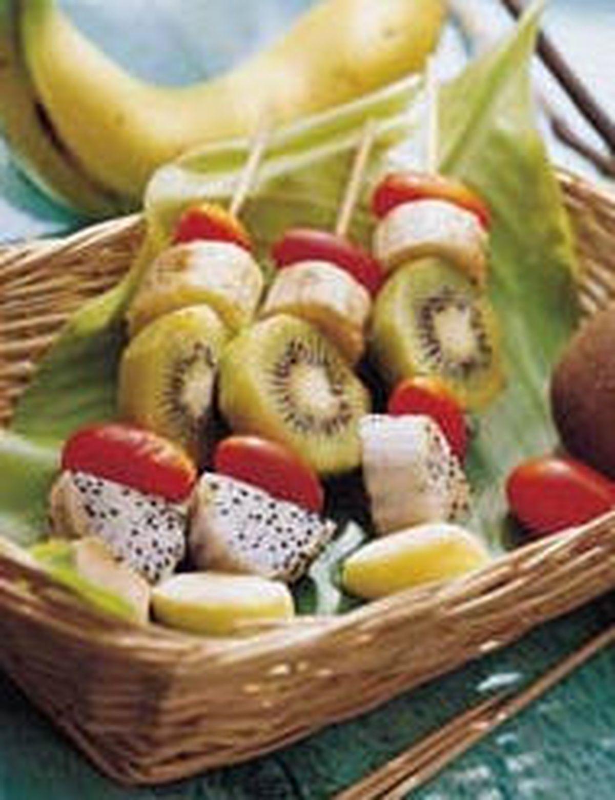 食譜:烤水果串