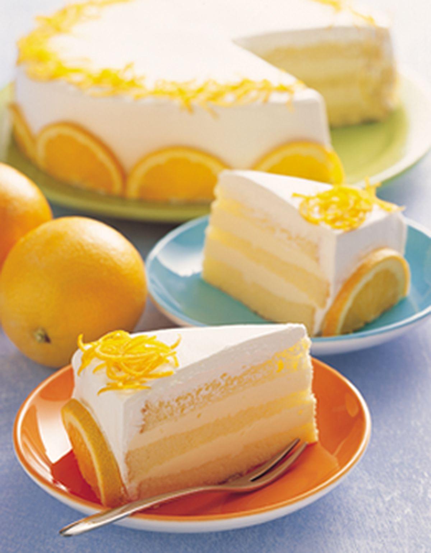 食譜:香吉士戚風蛋糕