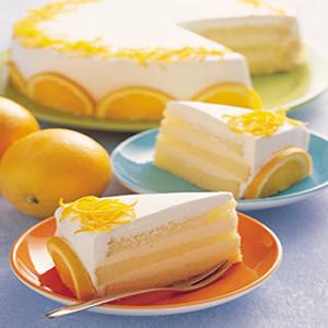 香吉士戚風蛋糕