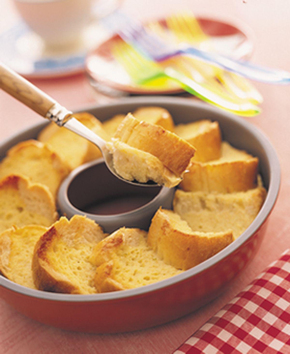 食譜:法式麵包布丁