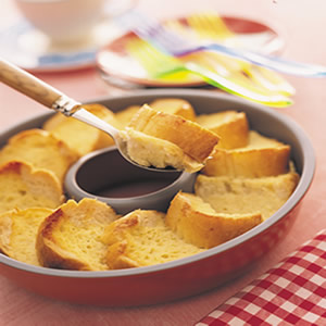 法式麵包布丁