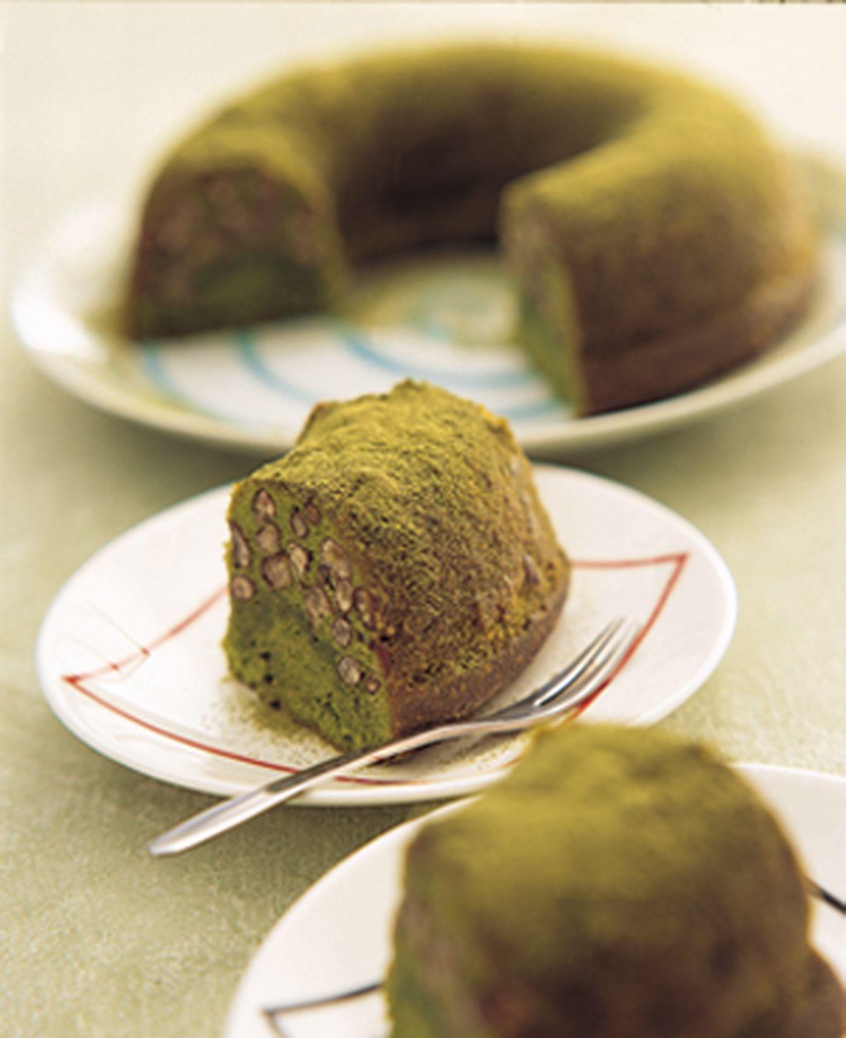 食譜:抹茶小倉蛋糕(1)